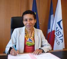 Elisabeth Crépon, directrice de l'ENSTA ParisTech depuis août 2012 © B. Rimboux - ENSTA ParisTech