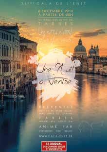 Visitez Venise avec le 51e Gala de l'ENIT