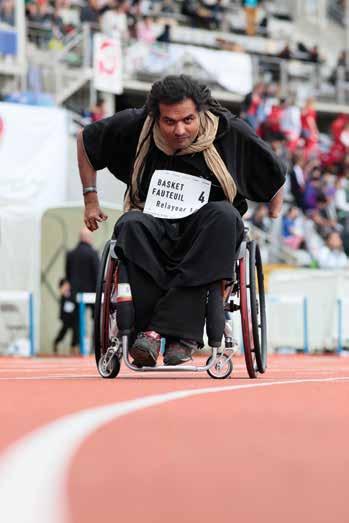 """"""" Nous sommes tous responsables face au handicap """""""