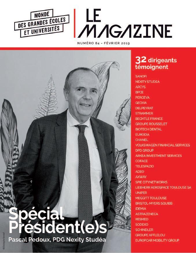 Grandes Ecoles & Universités Magazine – N°84 – Février 2019