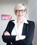 Gwendoline Cazenave, (Sciences Po Grenoble 89, McGill 90, Neoma 93), Directrice de la Direction Finance Stratégie Juridique de la branche SNCF Voyages © Brigitte Baudesson