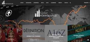 Portfoliance, portail francophone de la finance