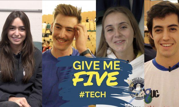 GIVE ME FIVE #TECH – Etudiants