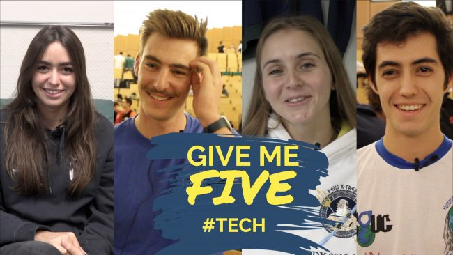 GIVE ME FIVE #TECH – Etudiants