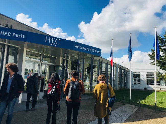 hec paris   un campus nouvelle g u00e9n u00e9ration