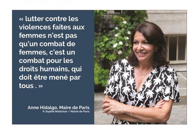[Le pouvoir a-t-il un sexe] « Le combat pour l'égalité n'est pas terminé ! » Anne Hidalgo
