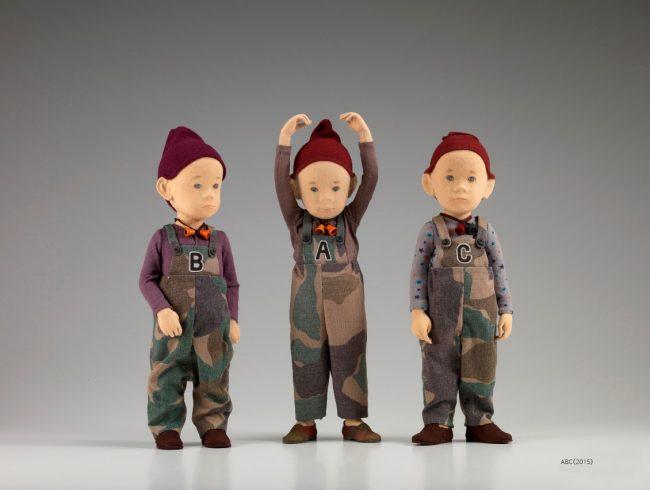 Les poupées enchantées d'ATAE Yûki à la Maison de la Culture du Japon à Paris