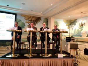 De g. à d. : Jean-Philippe Ammeux, Eric Dor, Philippe Regimbart, Olivier Rollot