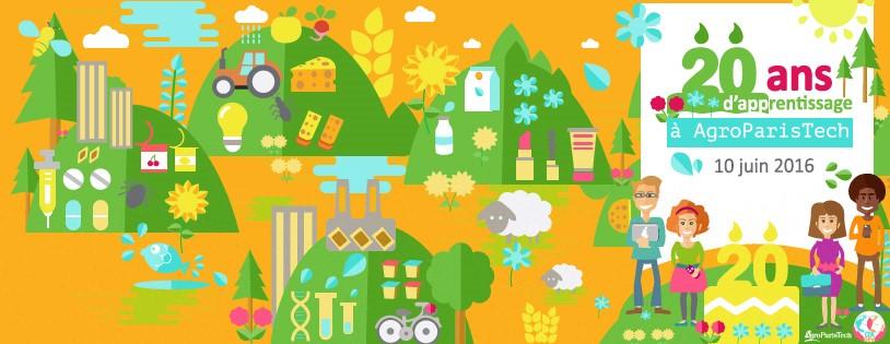 AgroParisTech fête le succès de ses 20 ans d'apprentissage !