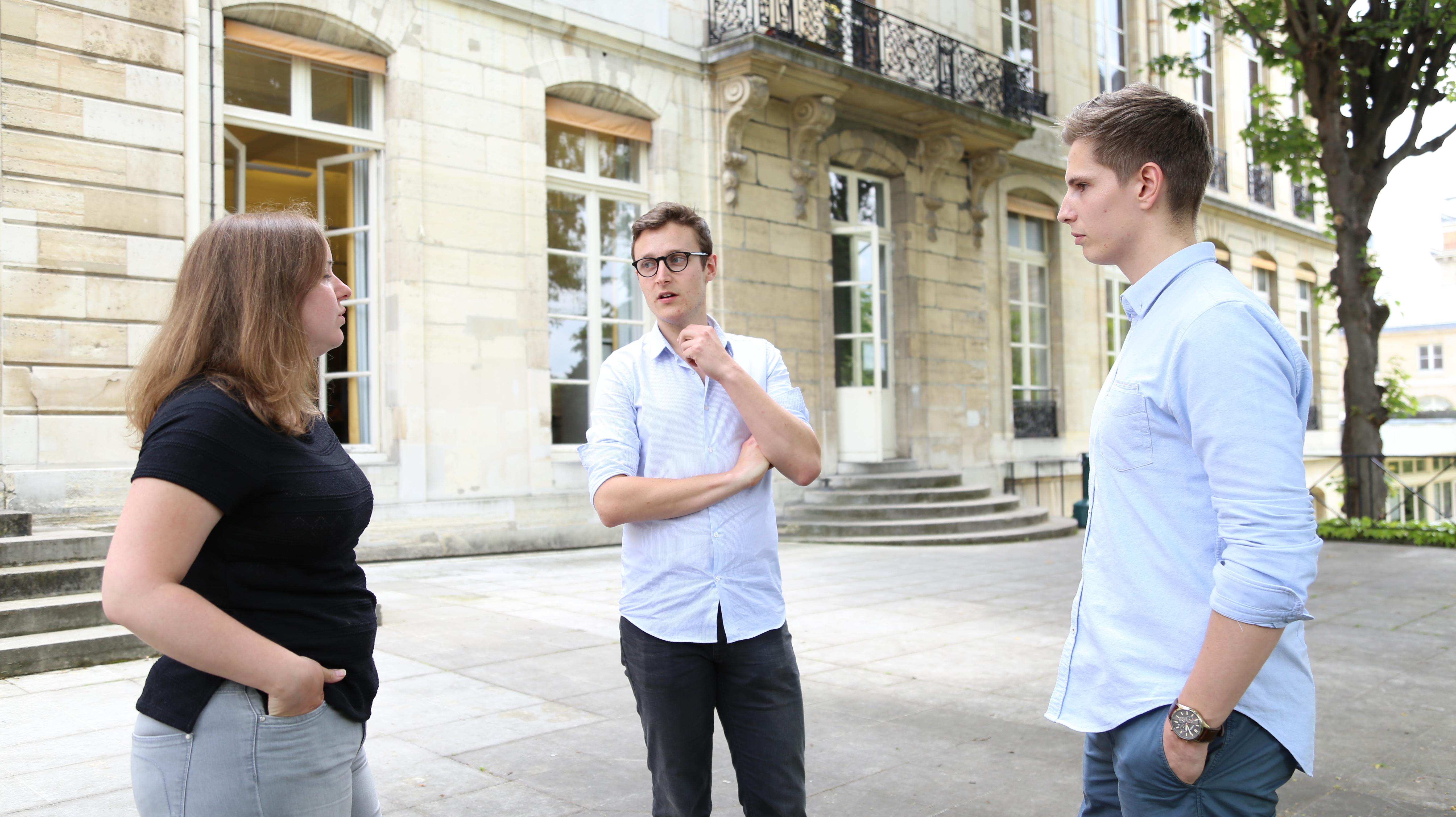 Etudiants ©MINES ParisTech th_vaerman