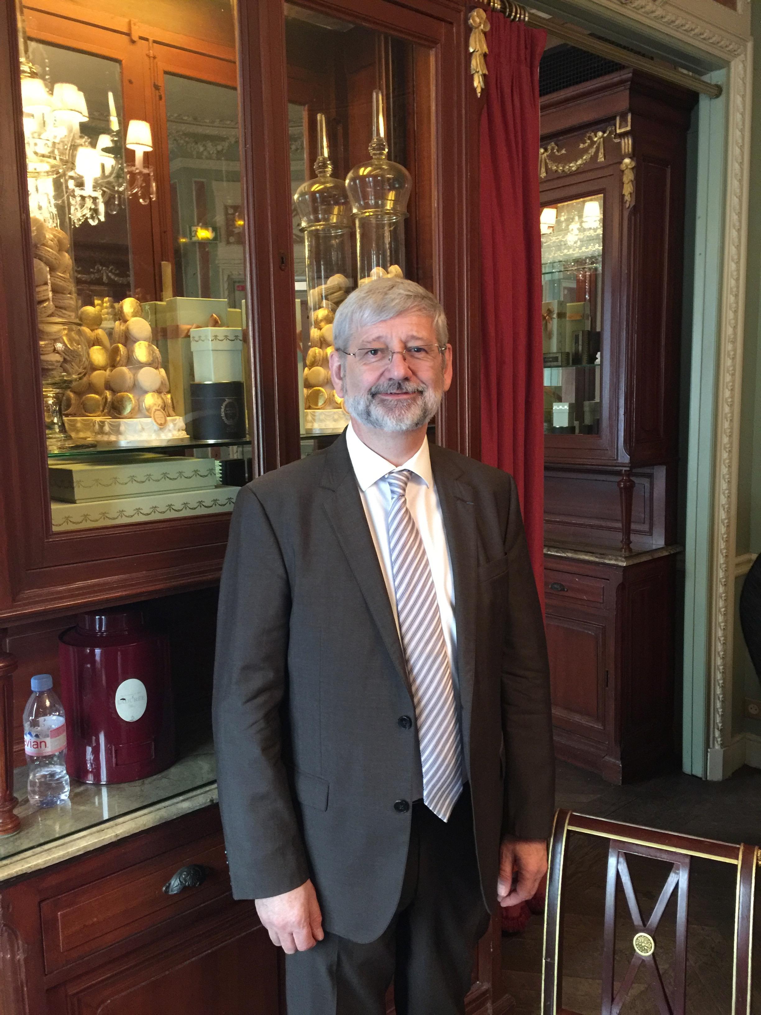 Bilan positif pour Alain Schmitt à Mines Albi