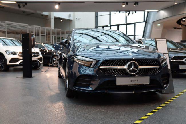 Feu vert pour l'électrique chez Mercedes-Benz Paris-Bordeaux