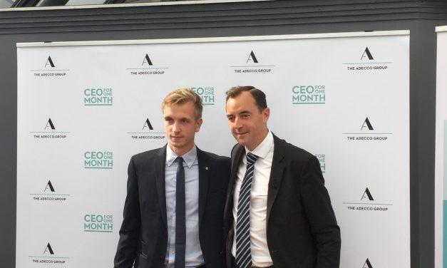 Maxime Le Tellier, étudiant à emlyon, prochain CEO for One Month d'Adecco France