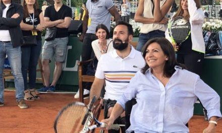 Michaël Jeremiasz, le champion paralympique renvoie la balle