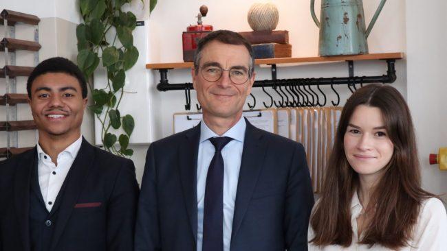 Mon dej avec le boss – Christophe Germain, directeur général d'Audencia