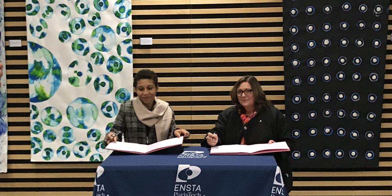 exposition «Rencontre diffractante, quand la science inspire l'art » École Boulle & ENSTA ParisTech – Du 20 décembre 2017 au 9 février 2018