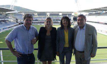 L'ASM Clermont Auvergne et le Groupe ESC Clermont partenaires d'une nouvelle filière de formation « Passion Sport »