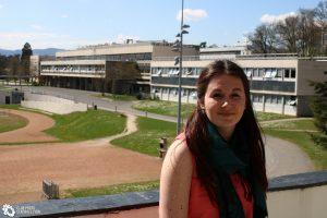 Camille Boutigny étudiante à Centrale Lyon