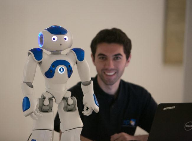Robot NAO © Gilles Cohen