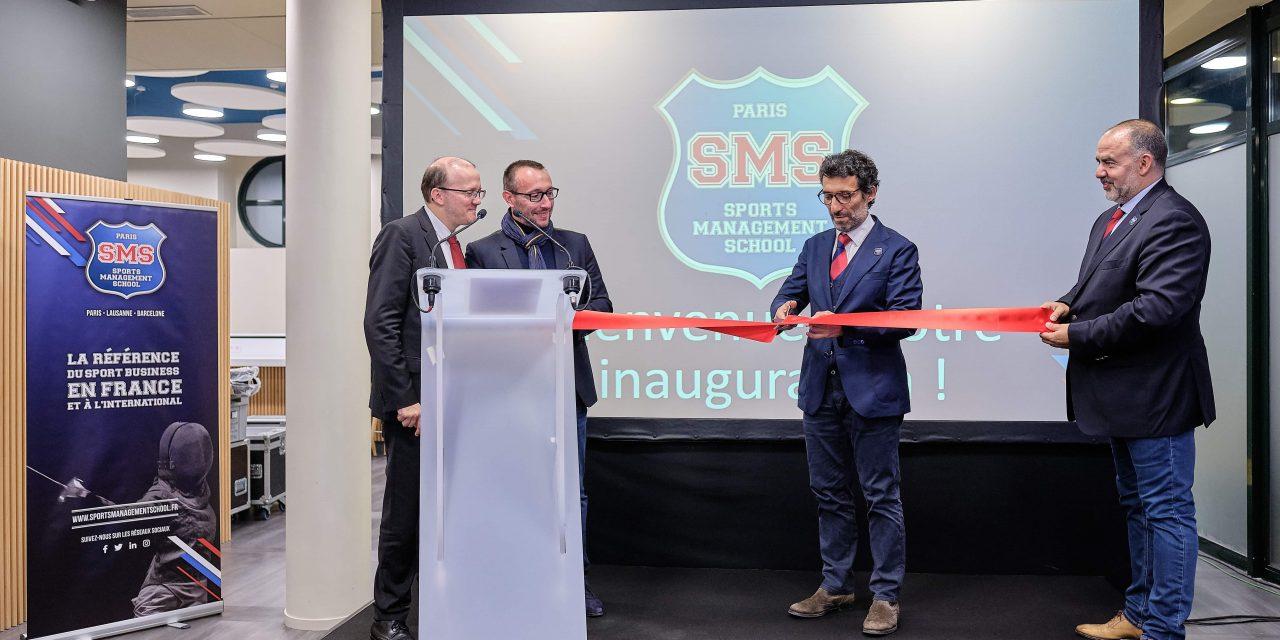 Nouveau campus parisien de la Sports Management School: une passe décisive