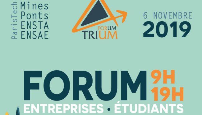 Forum Trium : l'incontournable rencontre entre étudiants et entreprises