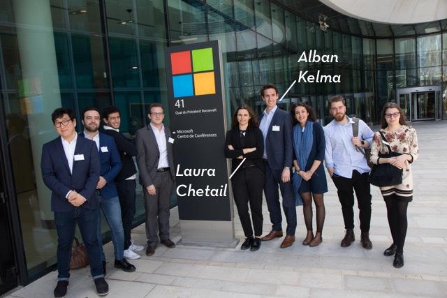 Rencontre avec les lauréats de l'édition 2018 de l'IPAG Microsoft 365 Battle