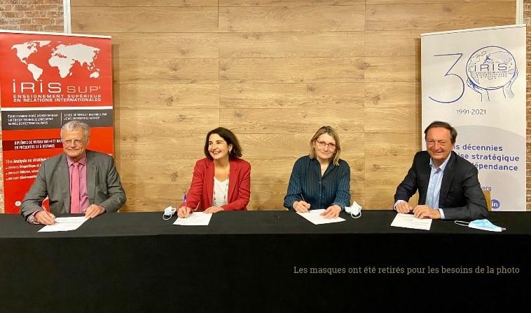 L'IRIS et NEOMA Business School deviennent partenaires