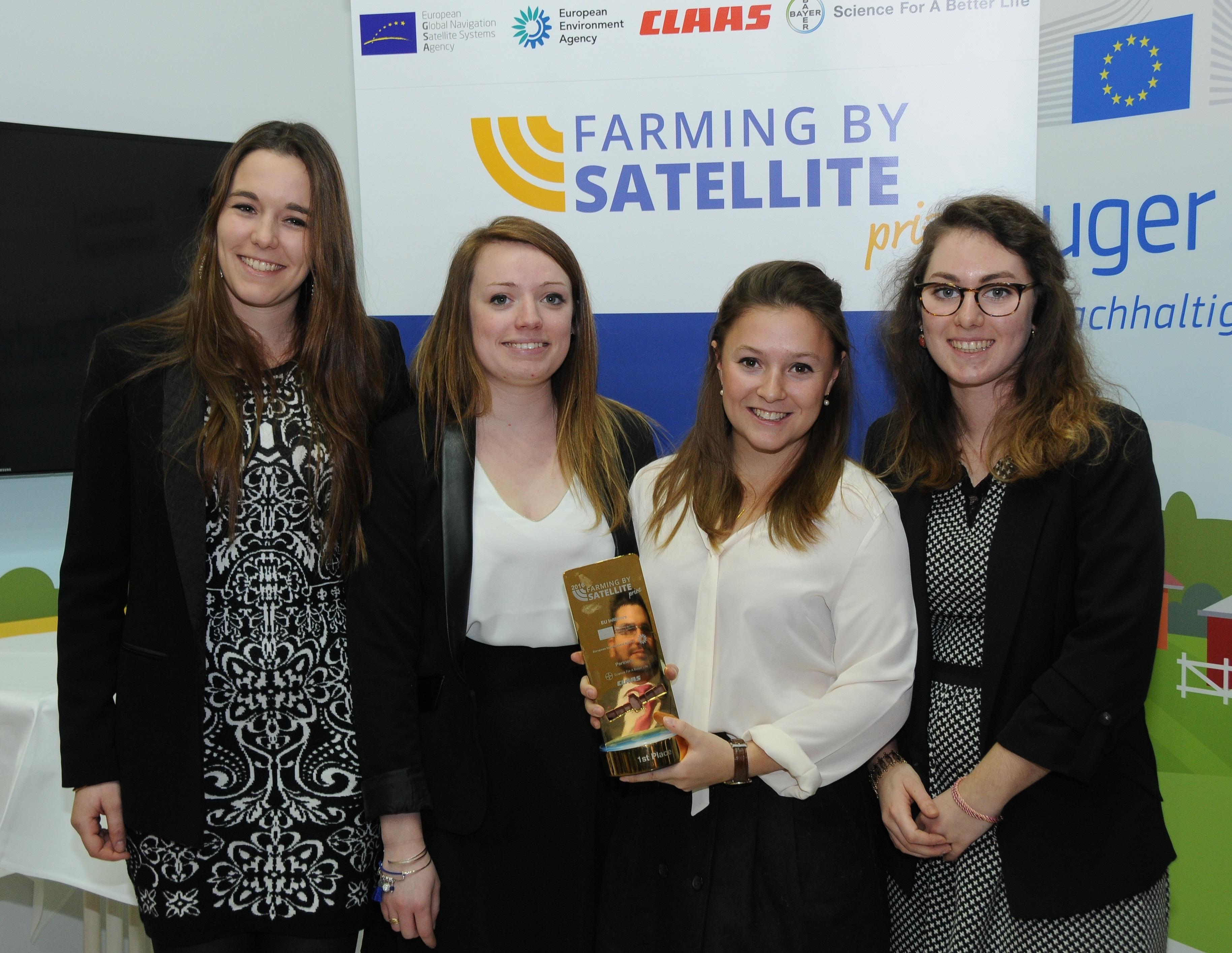 prix Européen Farming By Satellite ISA Lille