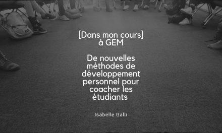 [DANS MON COURS] Autohypnose pour des étudiants de Grenoble Ecole de Management