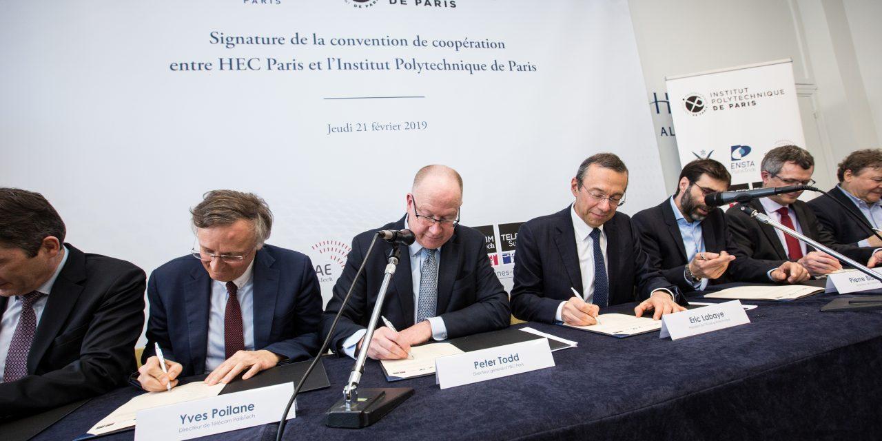 HEC Paris et Institut Polytechnique de Paris : vers l'excellence et au-delà !