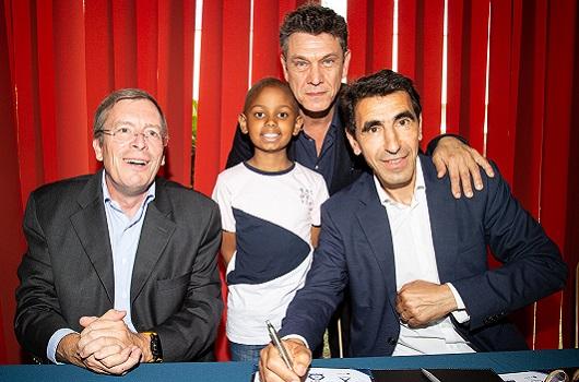 L'École polytechnique et Le Collectif/Mon Cartable Connecté annoncent la signature officielle d'une convention de partenariat pour améliorer la vie des enfants hospitalisés