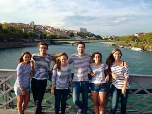 L'équipage des Lyon de Mer (Manon Adam, Gaetan Terrasson, Sandrine Vezin, Nicolas Rougerie, Léa Andruetan, Alexandra Perrillat-Mercerot)