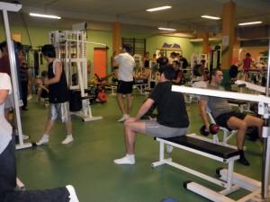 Activité sportive à l'IUT de Nîmes