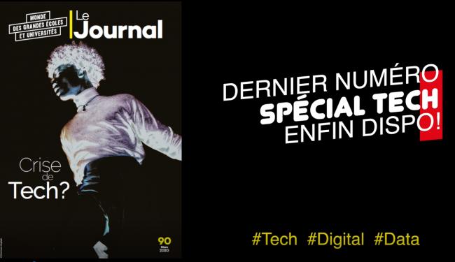 Le Journal des Grandes Écoles et Universités spécial #Tech est sorti !