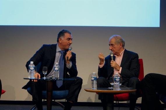 Tribunes ESCP Europe et Jean-Pierre Elkabbach reçoivent le prince impérial d'Iran : Reza Pahlavi