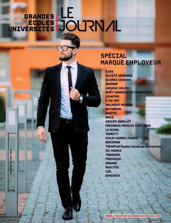 Le Journal des Grandes Ecoles & des Universités – N°85 – Mai 2018