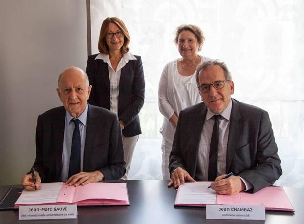 La Cité internationale signe un partenariat stratégique avec Sorbonne Université
