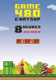 e-artsup lance Game 480 : 480 minutes chrono pour créer un jeu vidéo.