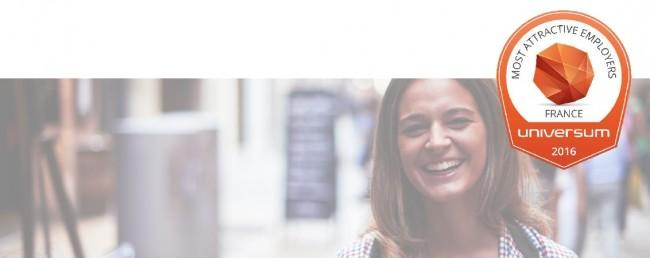 Classement UNIVERSUM 2016: Les entreprises qui font rêver les étudiants en France