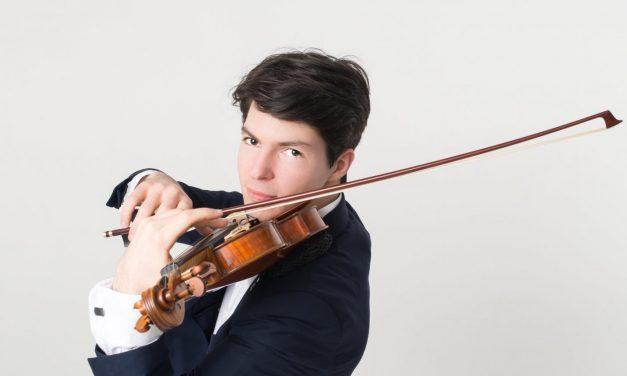 Ce virtuose lève des fonds grâce à son violon !