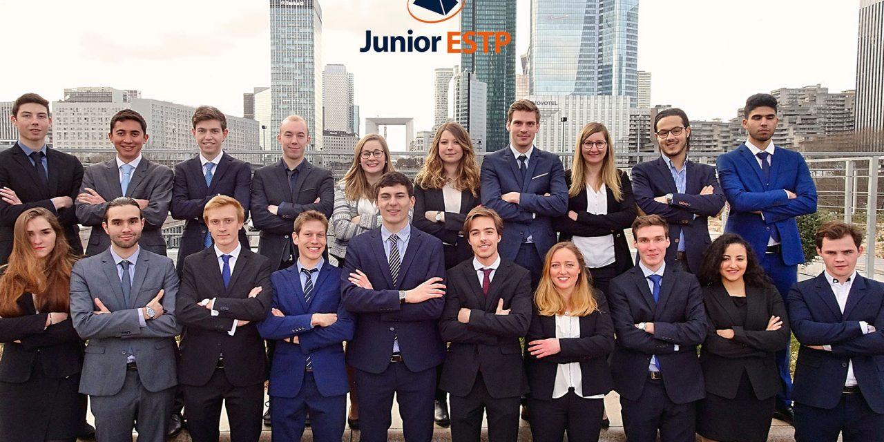 Une Junior Entreprise à la Une : Junior ESTP