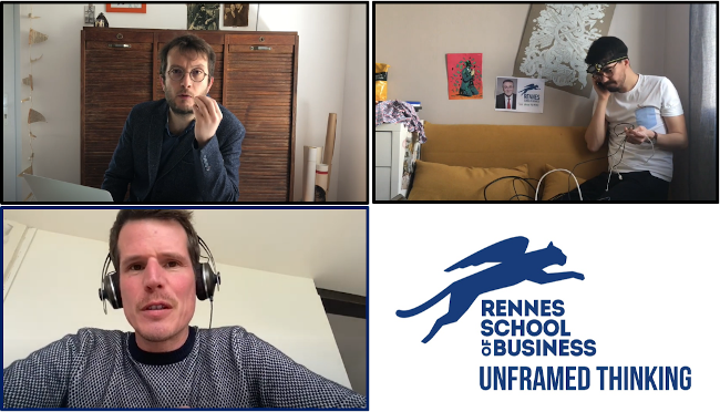 Rennes School of Business lance sa mini web-série humoristique  « Lockdown with Rennes SB »