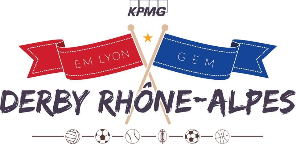 KPMG Derby Rhône-Alpes : Grenoble Ecole de Management affronte EMLYON le 15/11/2014