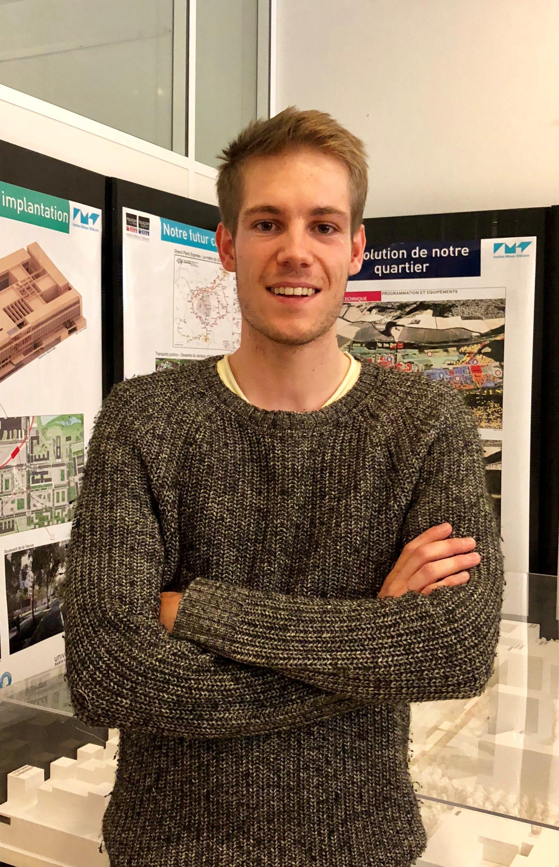 Mathis Chagneux étudiant Télécom ParisTech