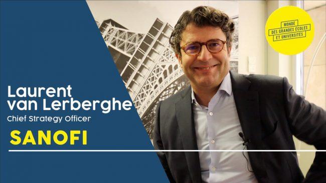 interview Laurent van Lerbergh Sanofi