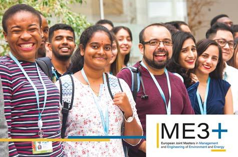 IMT Atlantique ouvre un Master européen commun  de gestion et d'ingénierie de l'environnement et de l'énergie +  (ME3+) labélisé Erasmus Mundus