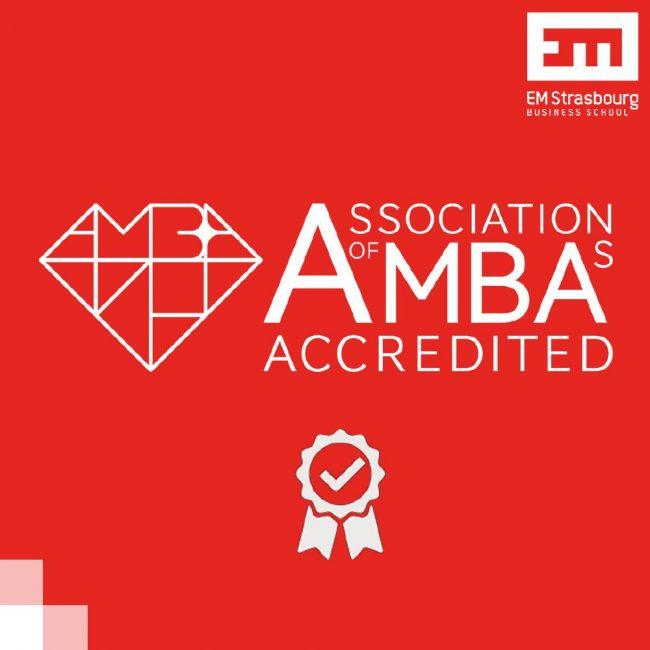 L'EM Strasbourg obtient l'accréditation AMBA pour 3 ans