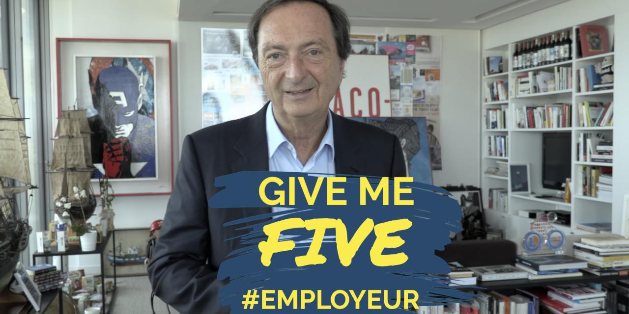 GIVE ME FIVE #MarqueEmployeur – Michel-Edouard Leclerc, PDG de E. Leclerc