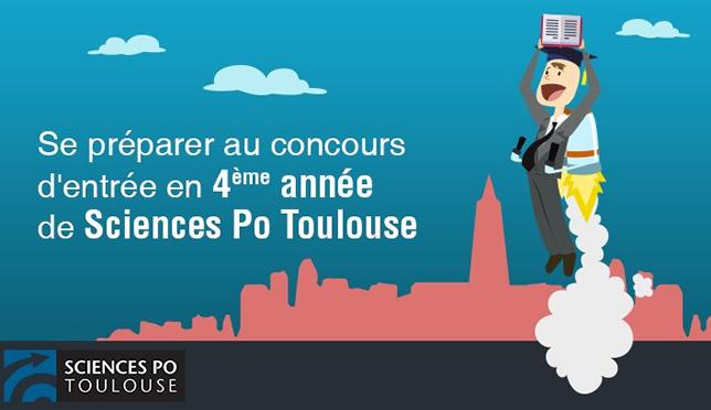 Sciences Po Toulouse élargit l'accès à son concours d'entrée en 4e année