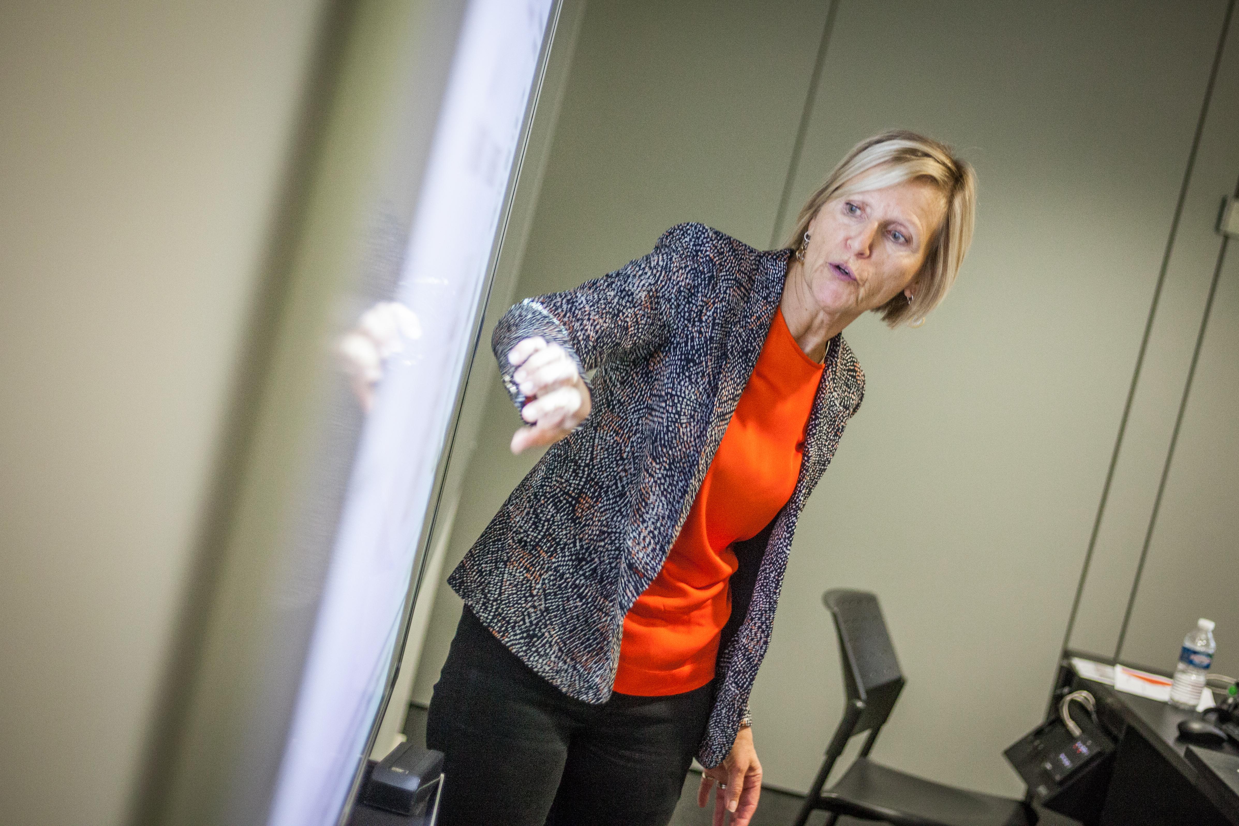 Christine Coisne professeure à l'EDHEC